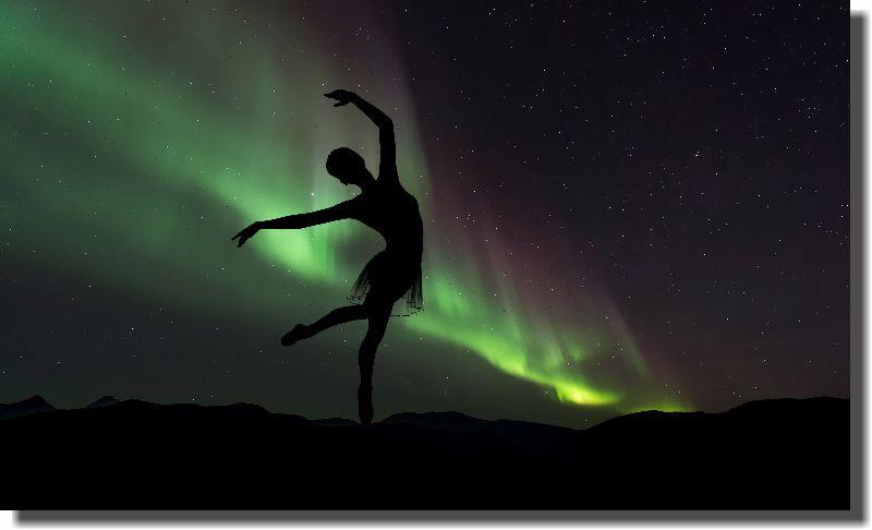 Quadro Decorativo Bailarina para Sala 1 peça