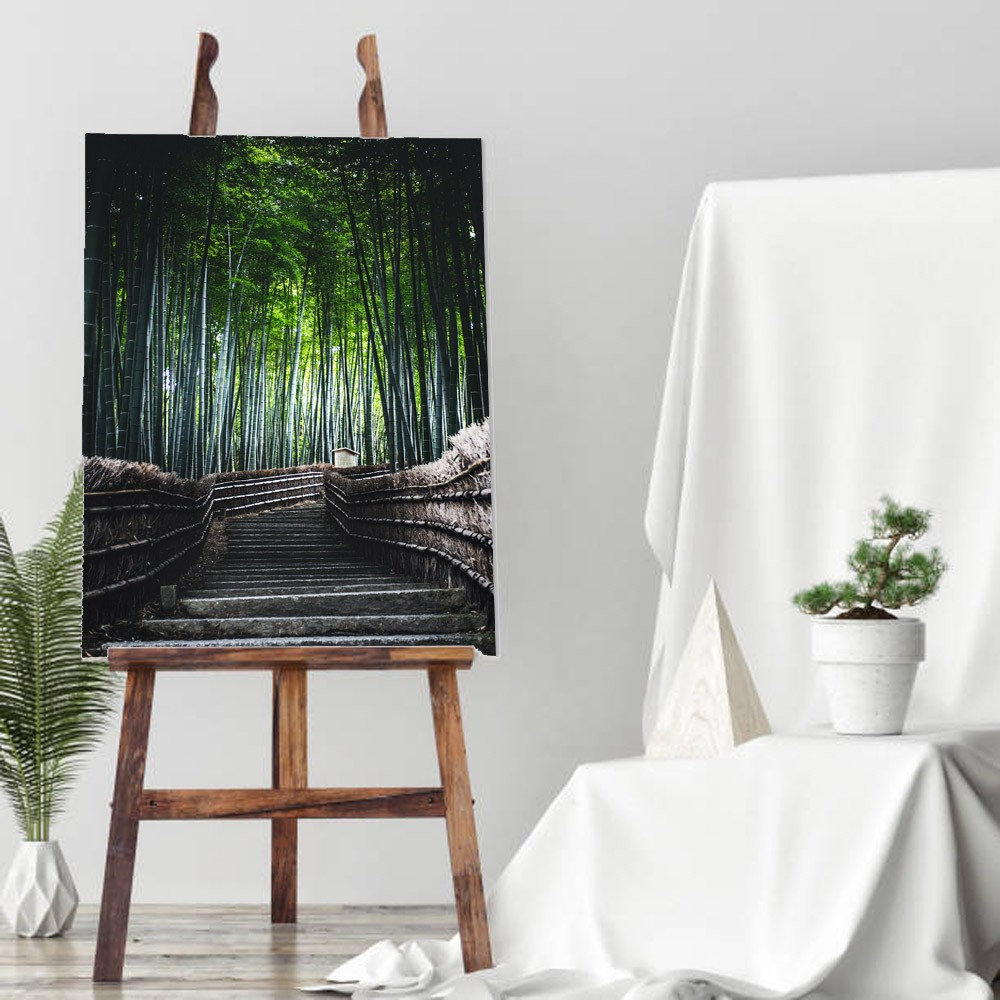 Quadro Decorativo Bambu