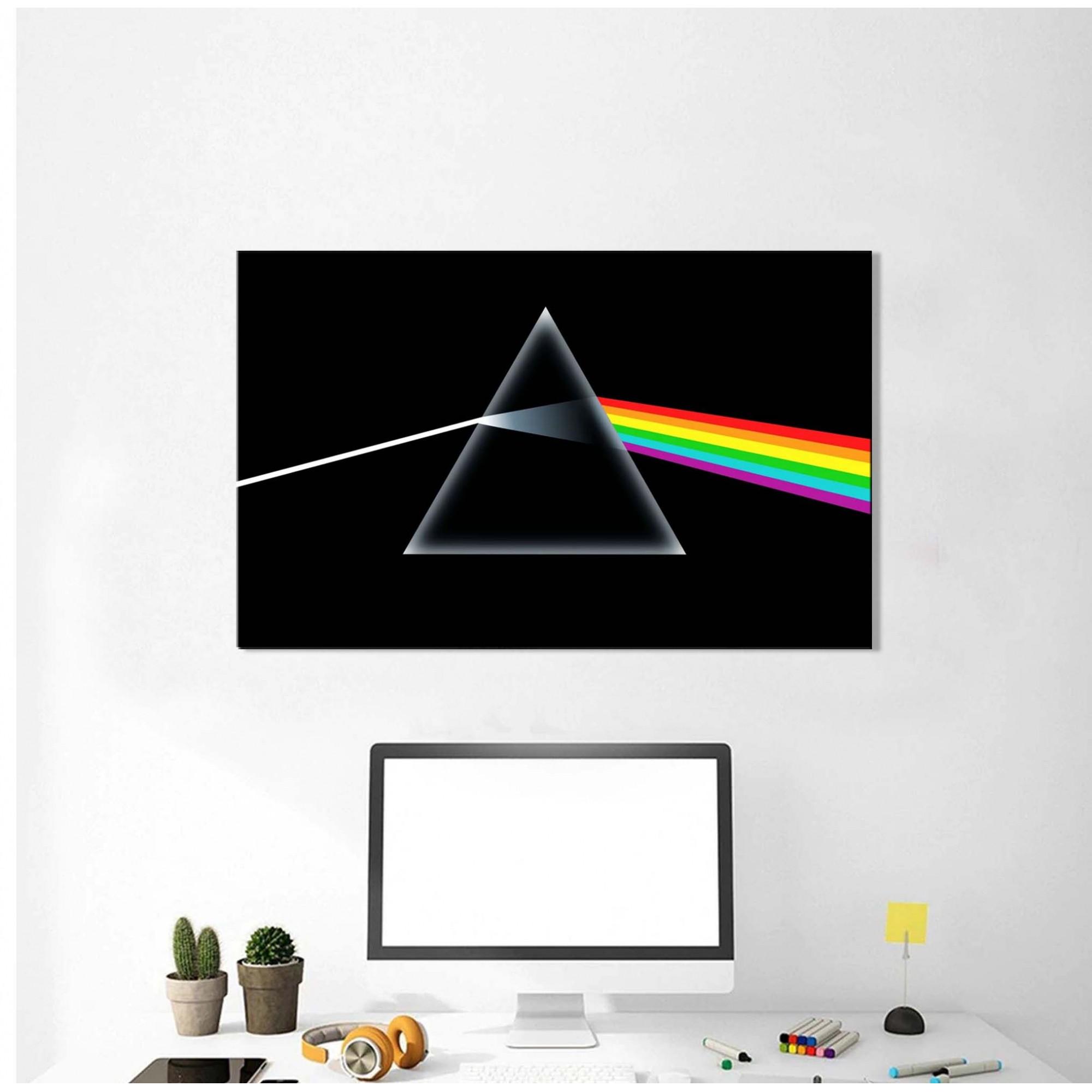 Quadro Decorativo Banda Pink Floyd 1 Peça