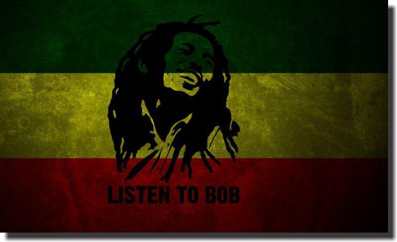Quadro Decorativo Bob Marley 1 peça
