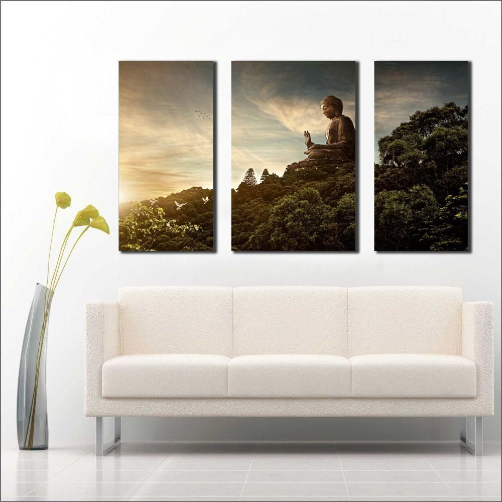 Quadro Decorativo Buda Para Sala e Quarto M3