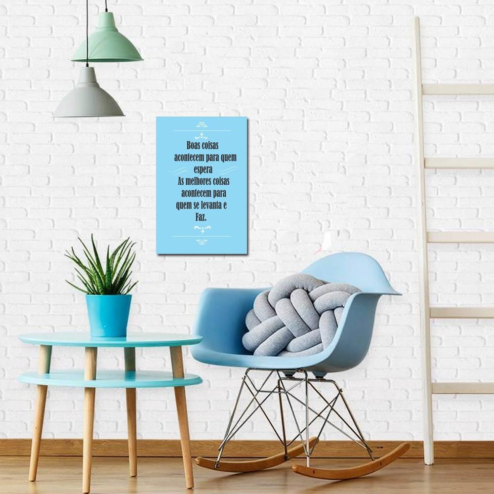 Quadro Decorativo Frases Motivacionais 1 Peça 20x30