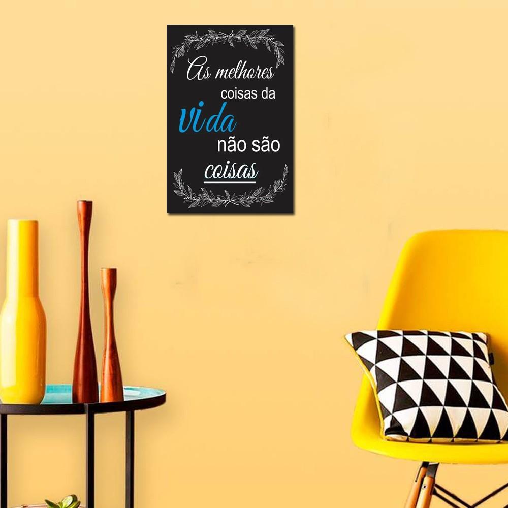 Quadro Decorativo Frases Motivacionais 1 Peça 20x30 M3
