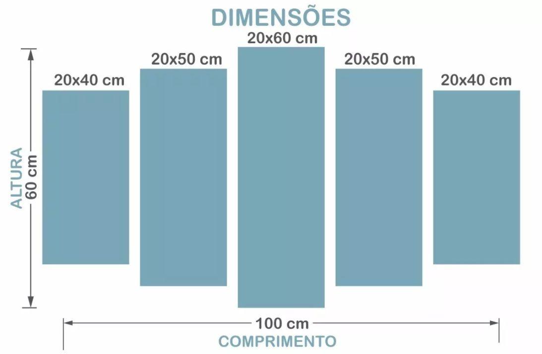 Quadro Decorativo Jogo Nier Automata 5 Peças Para Sala