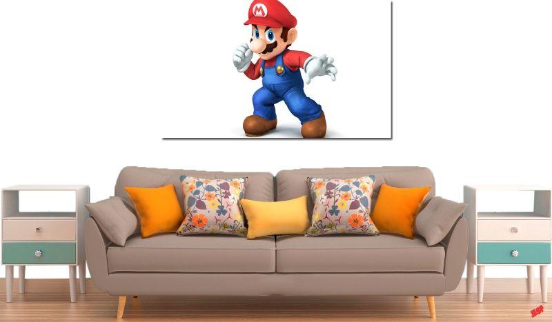 Quadro Decorativo Jogo Super Mario 1 Peça M3