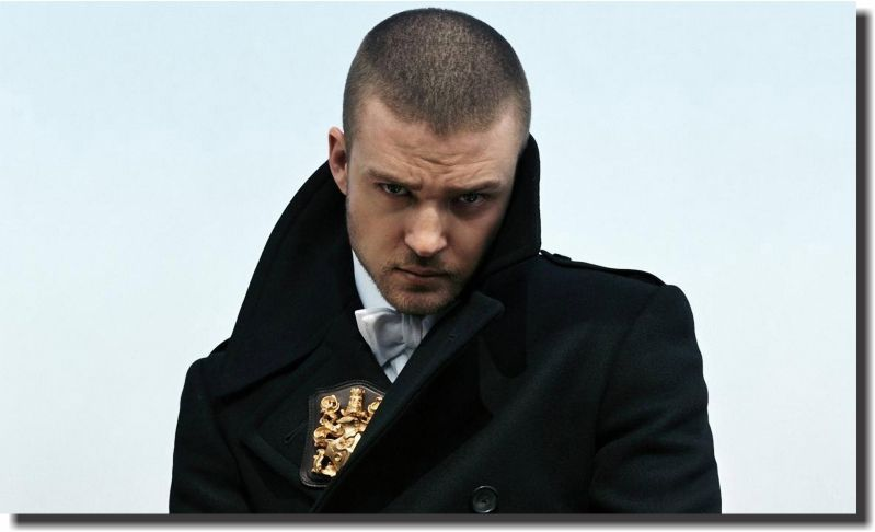 Quadro Decorativo Justin Timberlake 1 peça