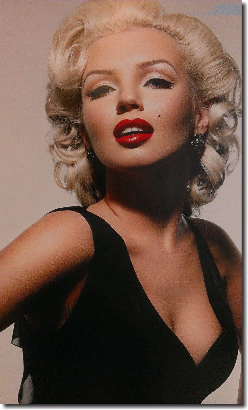 Quadro Decorativo Marilyn Monroe 1 peça m2