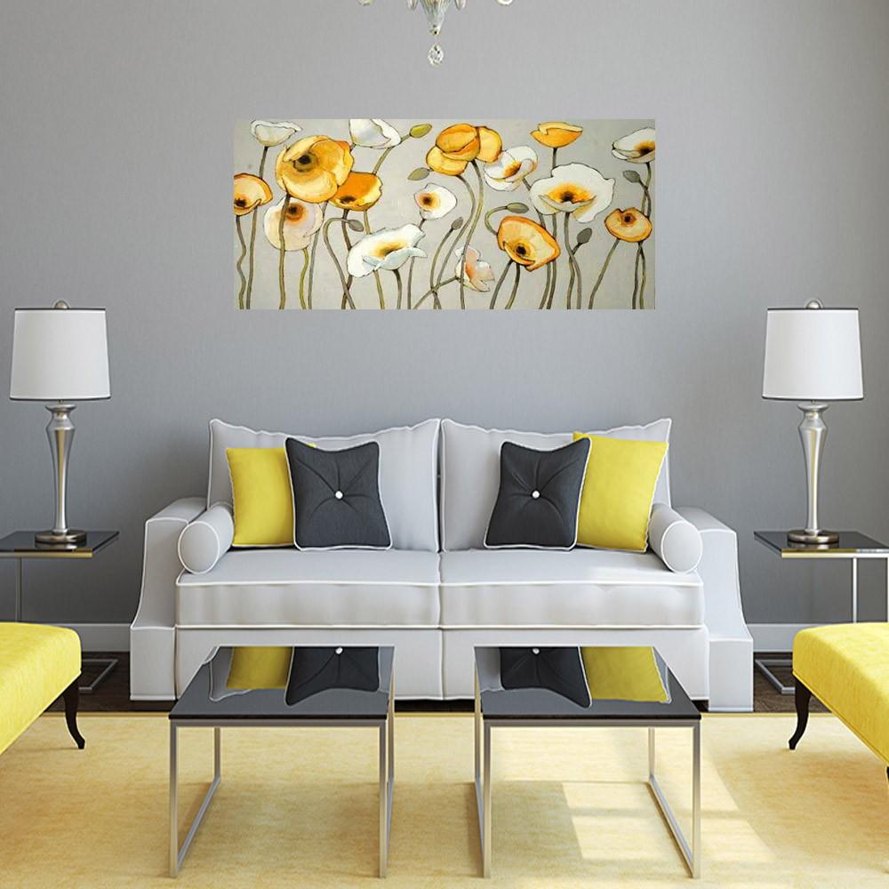 Quadro Decorativo Papoulas