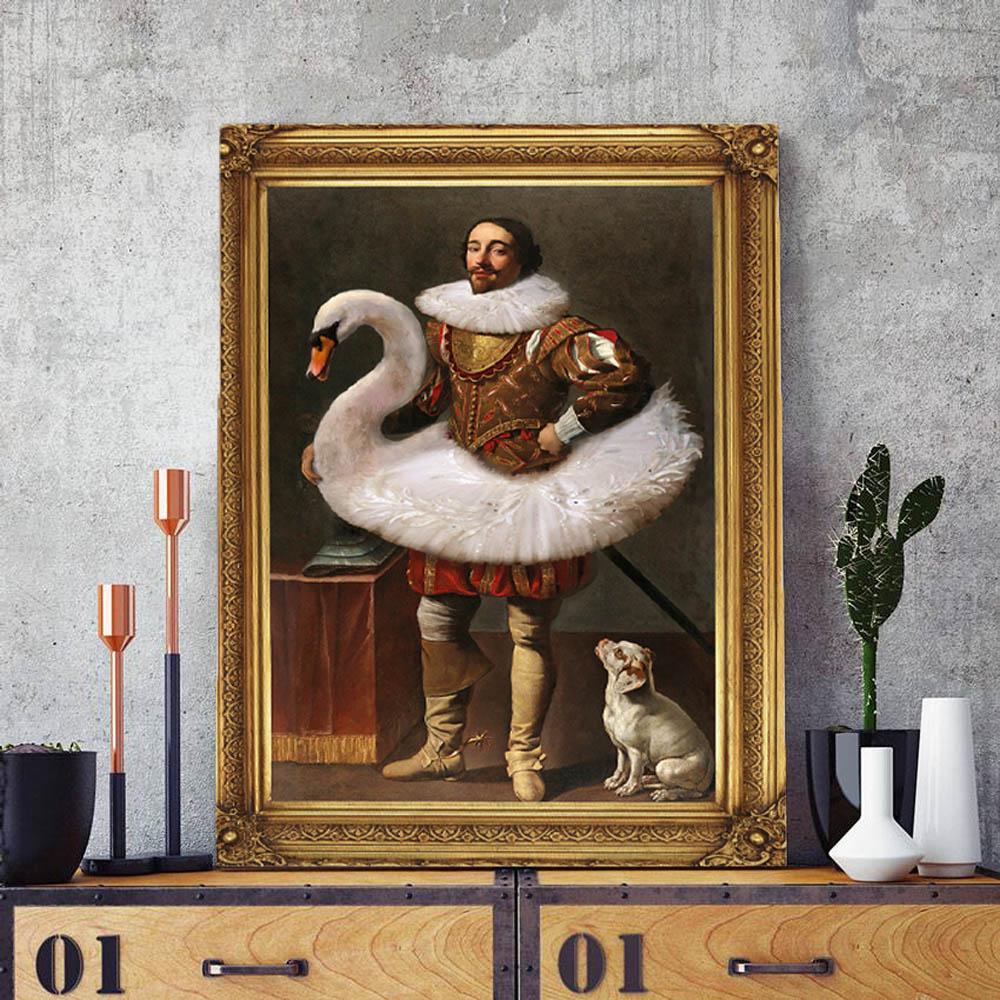 Quadro Decorativo Pintura Famosa