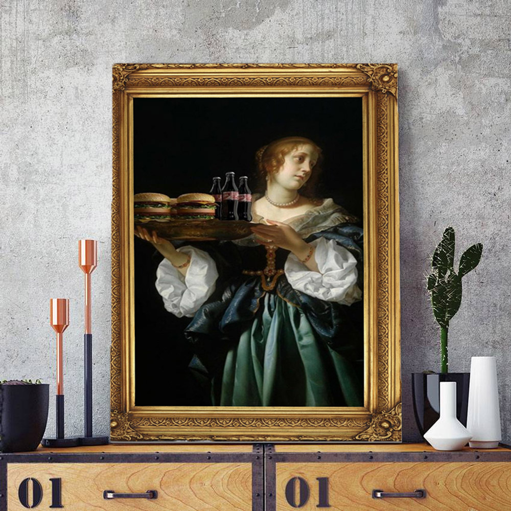 Quadro Decorativo Pintura Famosa M4