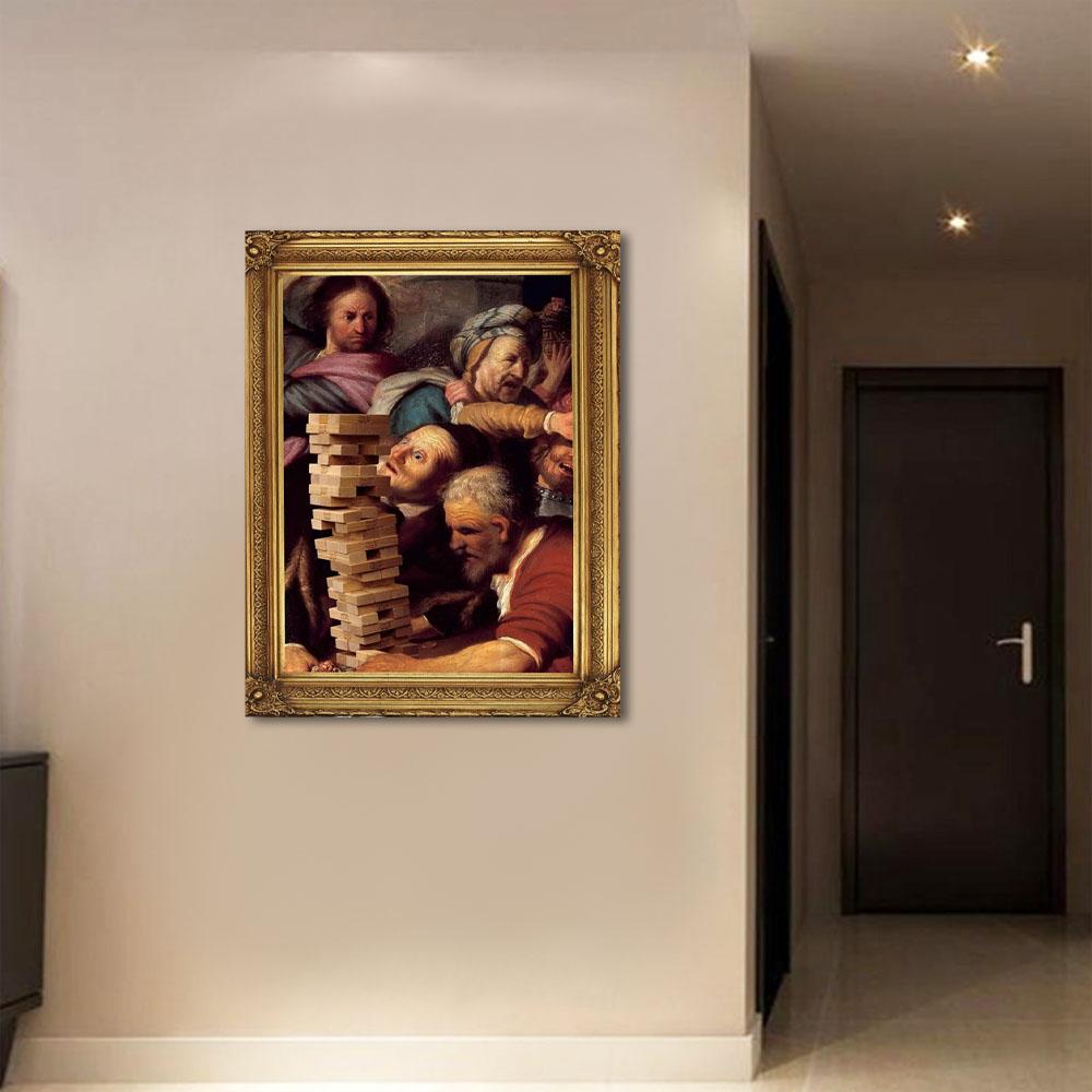 Quadro Decorativo Pintura Famosa M6