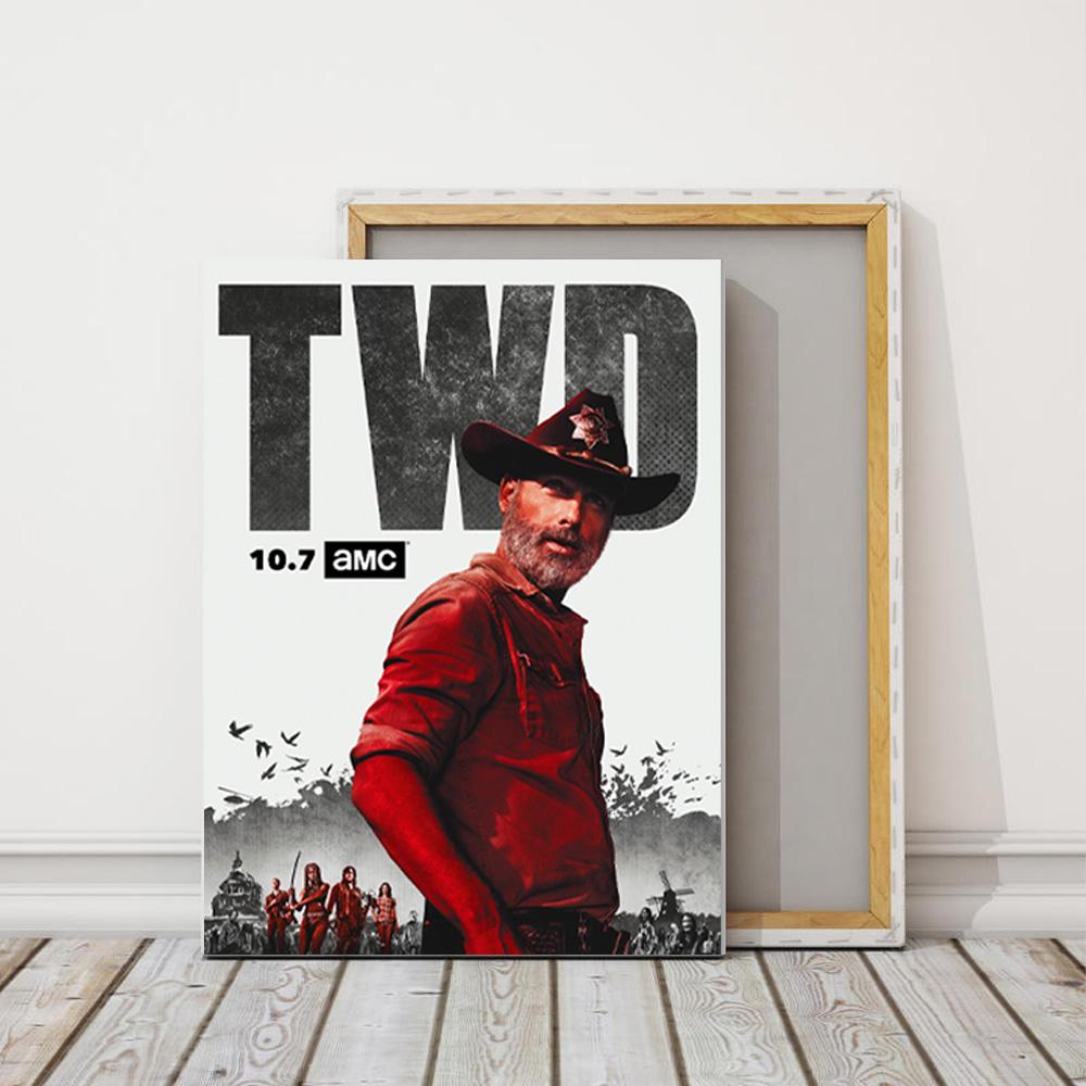 Quadro Decorativo Serie The Walking Dead