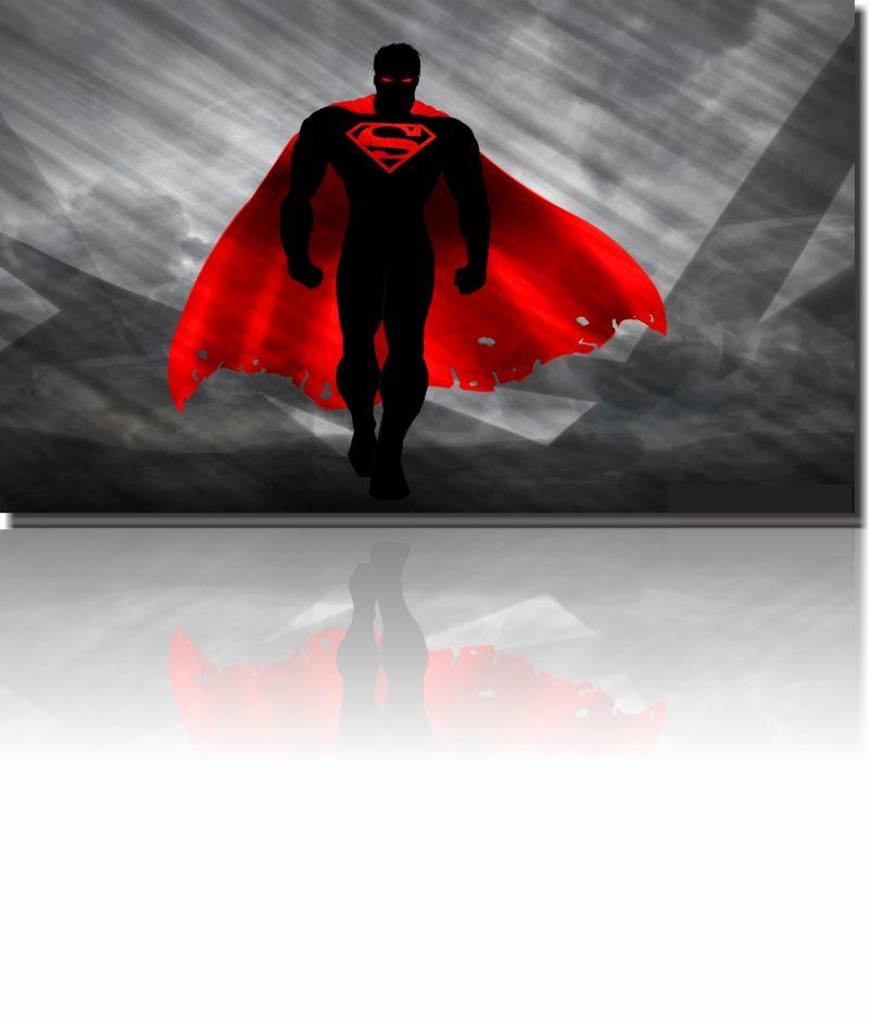 Quadro Decorativo Super Homem 1 peça