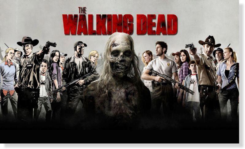 Quadro Decorativo The Walking Dead 1 peça