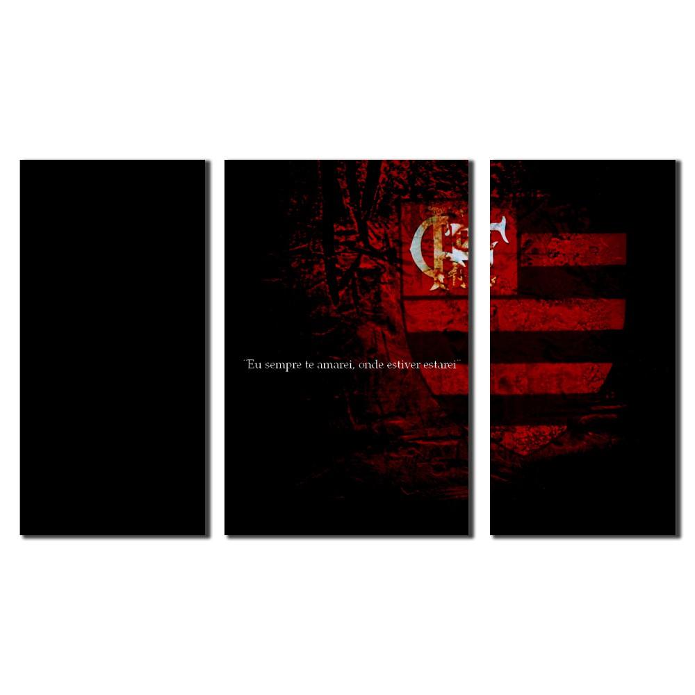 Quadro Decorativo Time Flamengo Para Sala Ou Quarto