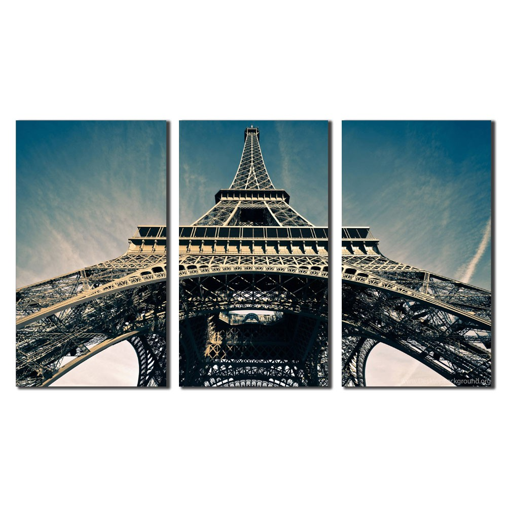 Quadro Eiffel Tower city Sky Paris