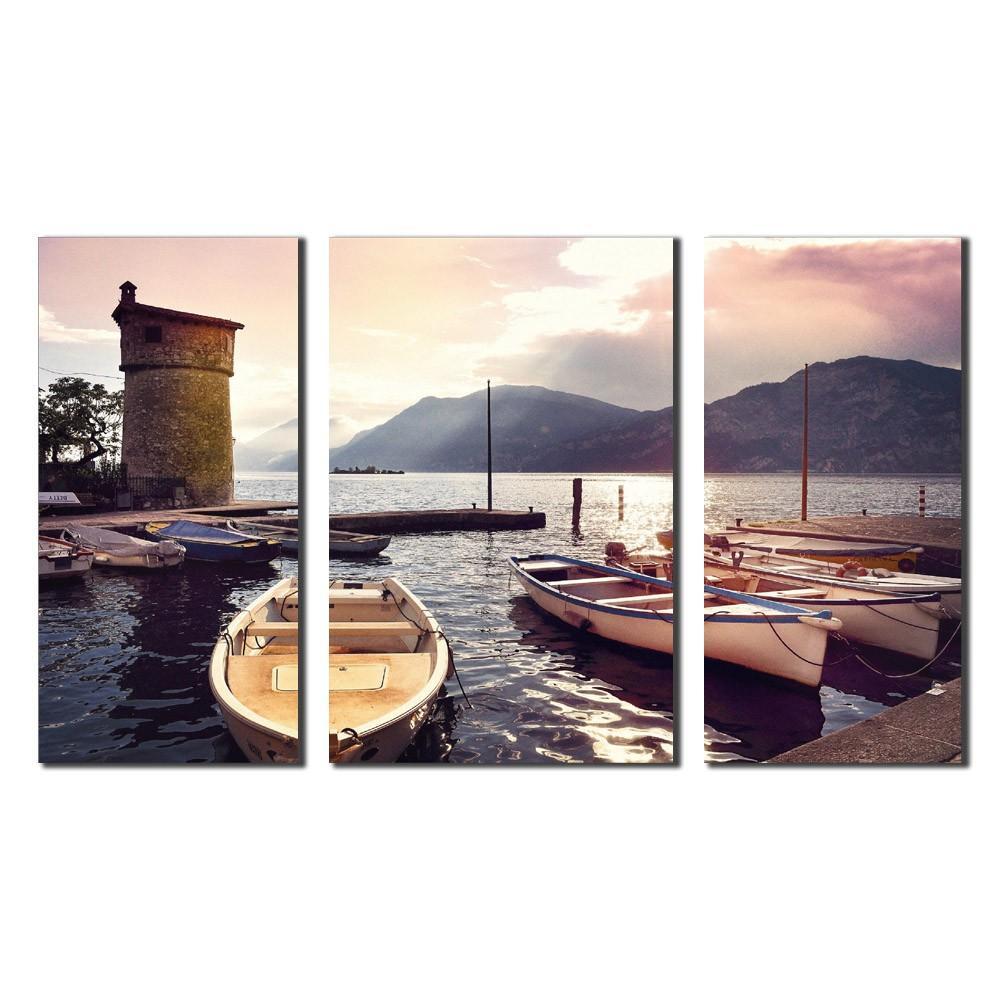 Quadro Itália Barcos