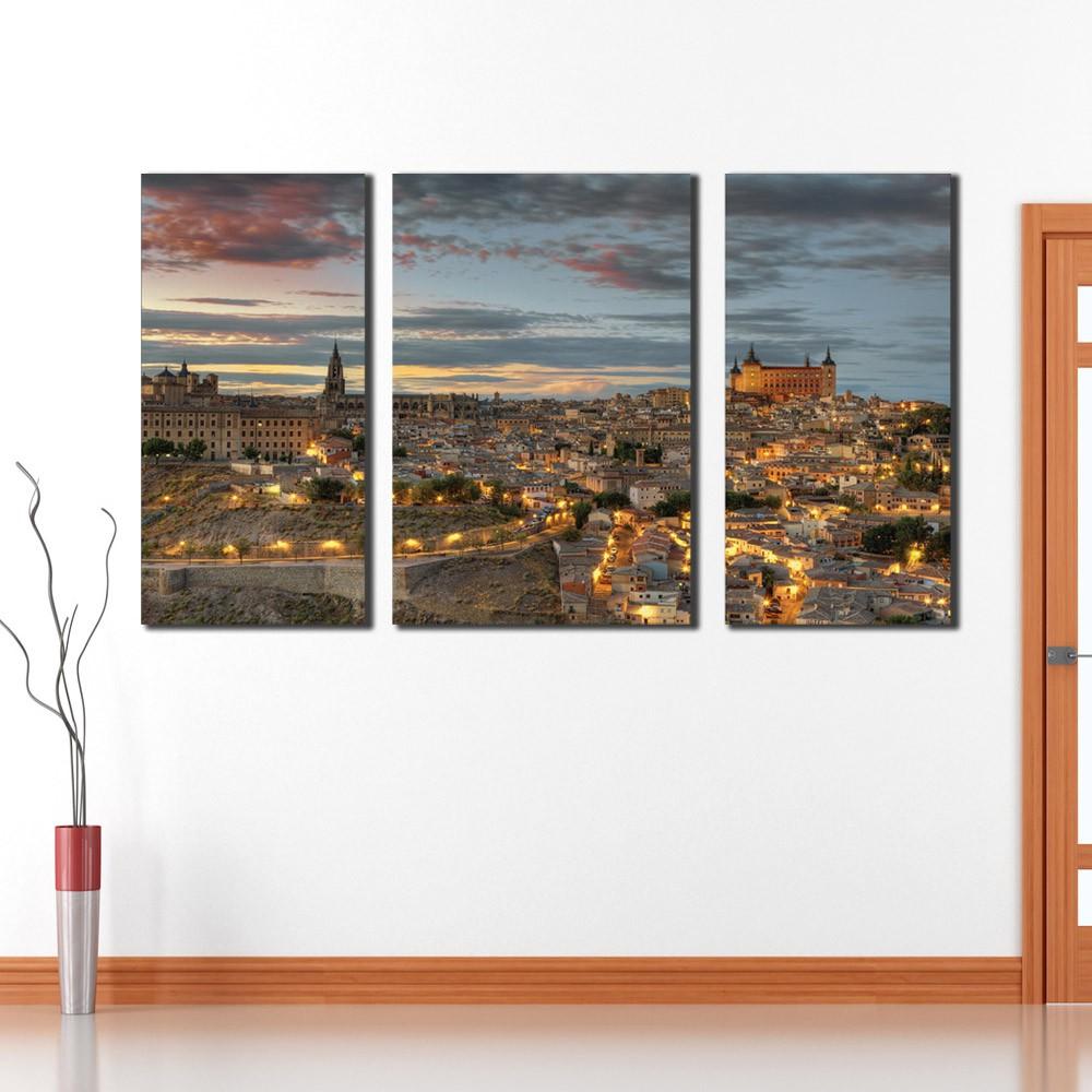 Quadro Luzes Toledo Espanha
