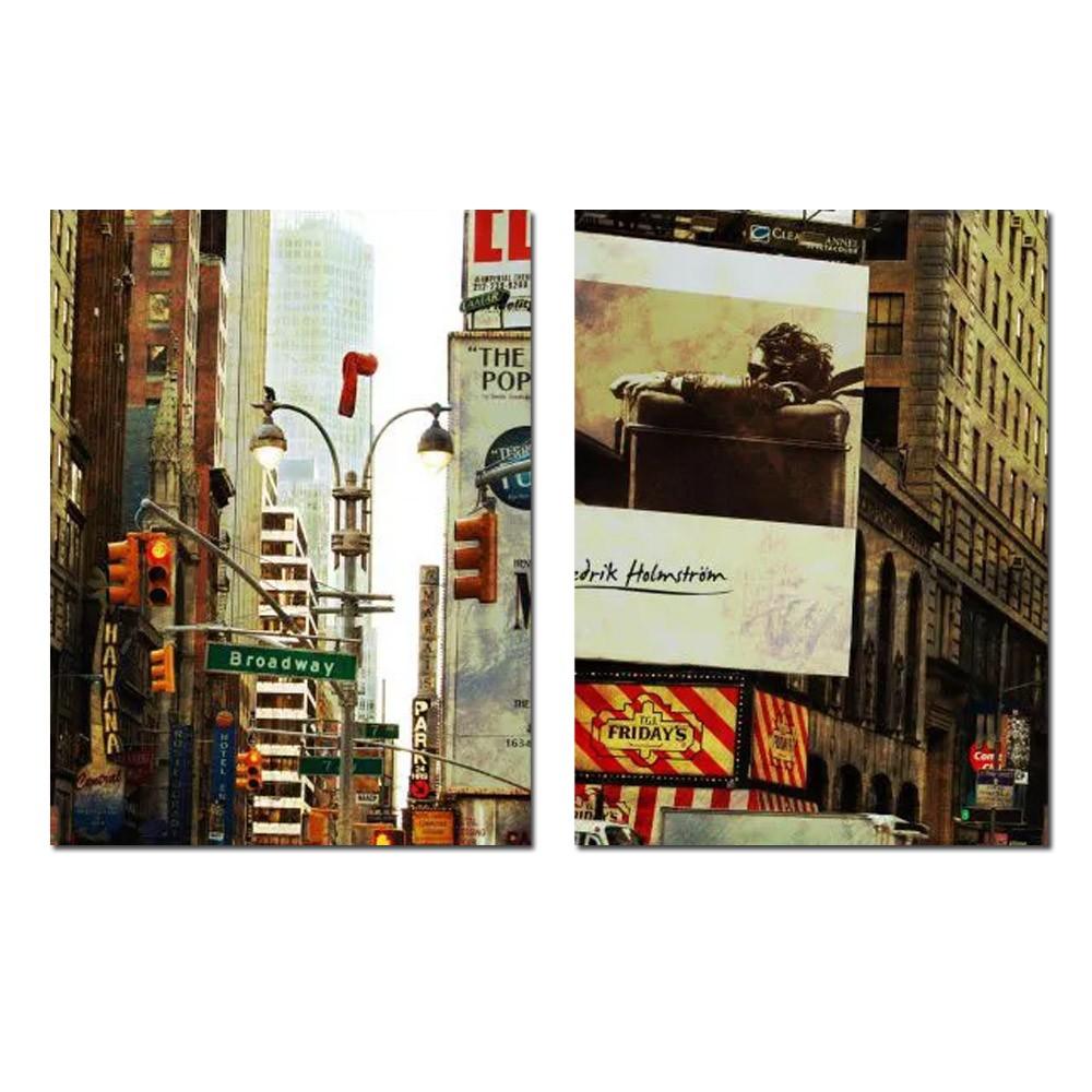 Quadro new york  Broadway Decoração