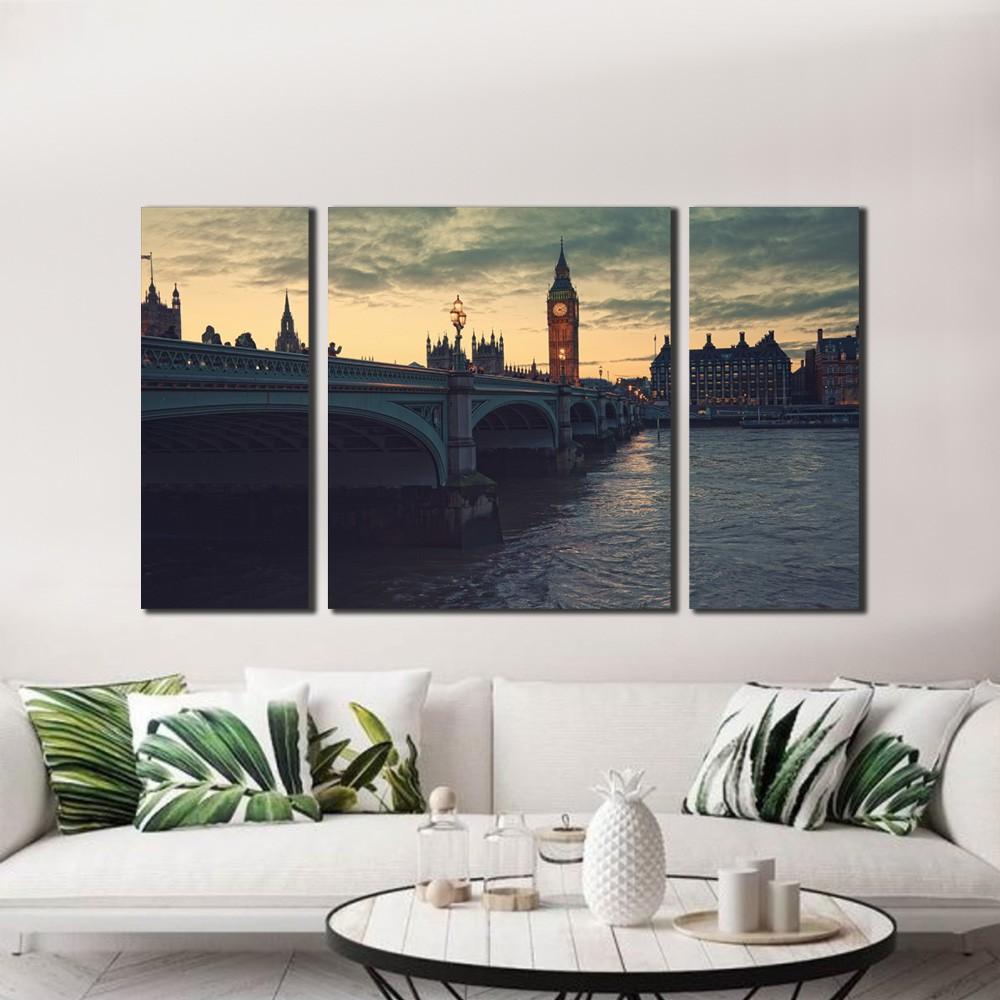 Quadro Ponte Londres Noite