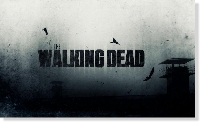 Quadros Decorativo The Walking Dead para Quartos 1 peça