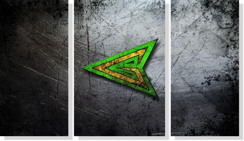 Quadros Decorativos Arrow para Quartos 3 peças m2