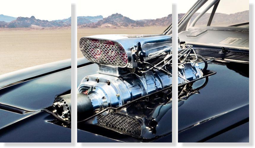 Quadros Decorativos Carro Veloz para Quartos 3 peças