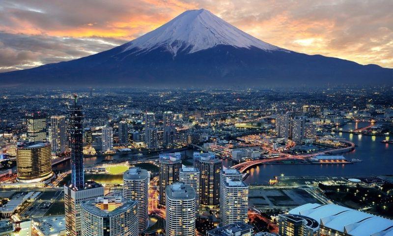 Quadros Decorativos Cidade de Japan 1 peça