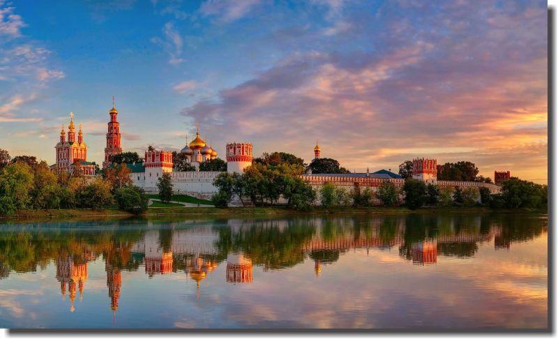 Quadros Decorativos Cidade de Moscow 1 Peça