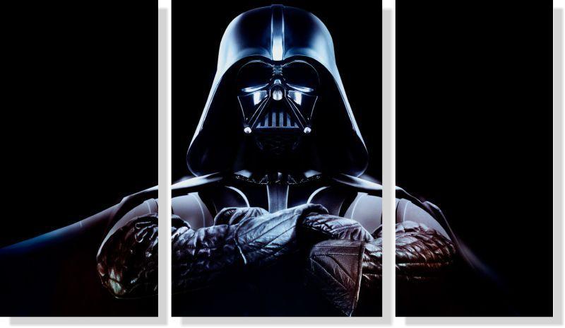 Quadros Decorativos Star Wars 3 peças