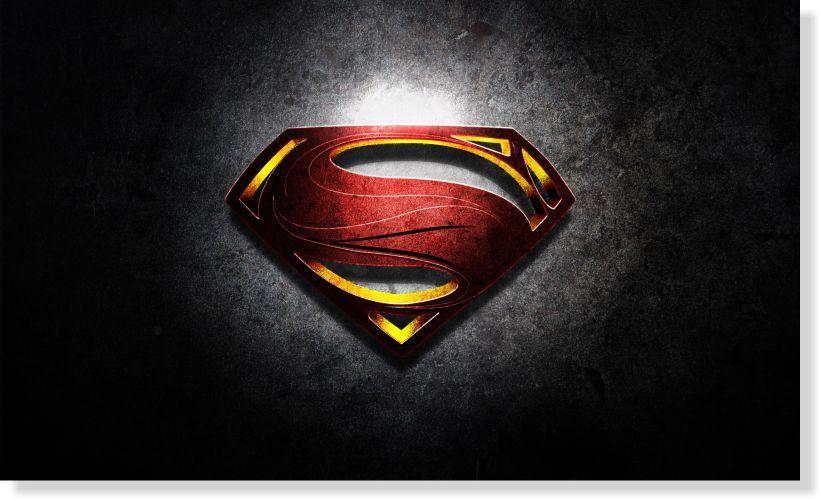 Quadros Decorativos Super Homem para Quartos 1 peça