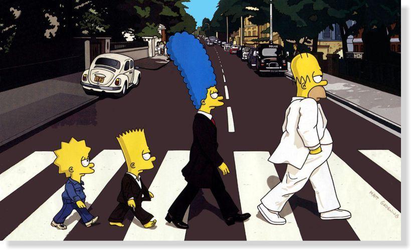 Quadros Decorativos The Simpsons para Quartos 1 peça