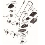 Cortador de Grama Eletrico CE35M2 Tramontina