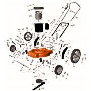 Cortador de Grama Eletrico CE45M Tramontina