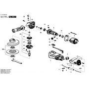 Peças para Esmerilhadeira 9002 (F 012 900 201) SKIL