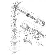 Peças para Esmerilhadeira GA 9040S - MAKITA