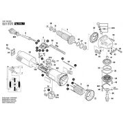 Peças Esmerilhadeira GWS 8 -115 - BOSCH (3601 H20 8D0)