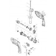Peças para Furadeira HP 2014- MAKITA