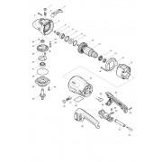 Peças para Lixadeira Angular SA7021 - MAKITA