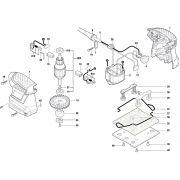 Peças para Lixadeira GSS 140-1 BOSCH