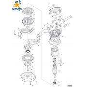 Peças para Lixadeira Rotorbital BO 5030 - MAKITA