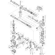 Peças para Martelete Combinado 28mm c/ilumin. HR 2811F - MAKITA