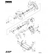 Peças para Serra Circular MSS703 - 185mm MAKITA