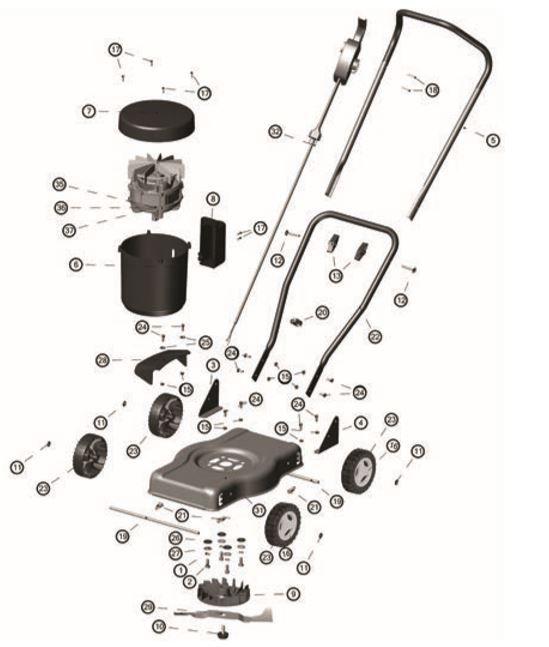 Cortador de Grama Eletrico CE30M Tramontina