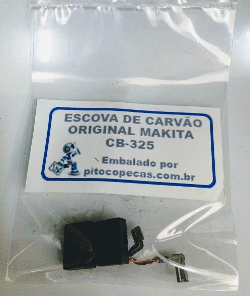 Escova de Carvão Retificadeira Makita GD0600 / GD0800
