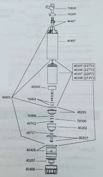 Peças para Bomba Anauger 4 H60