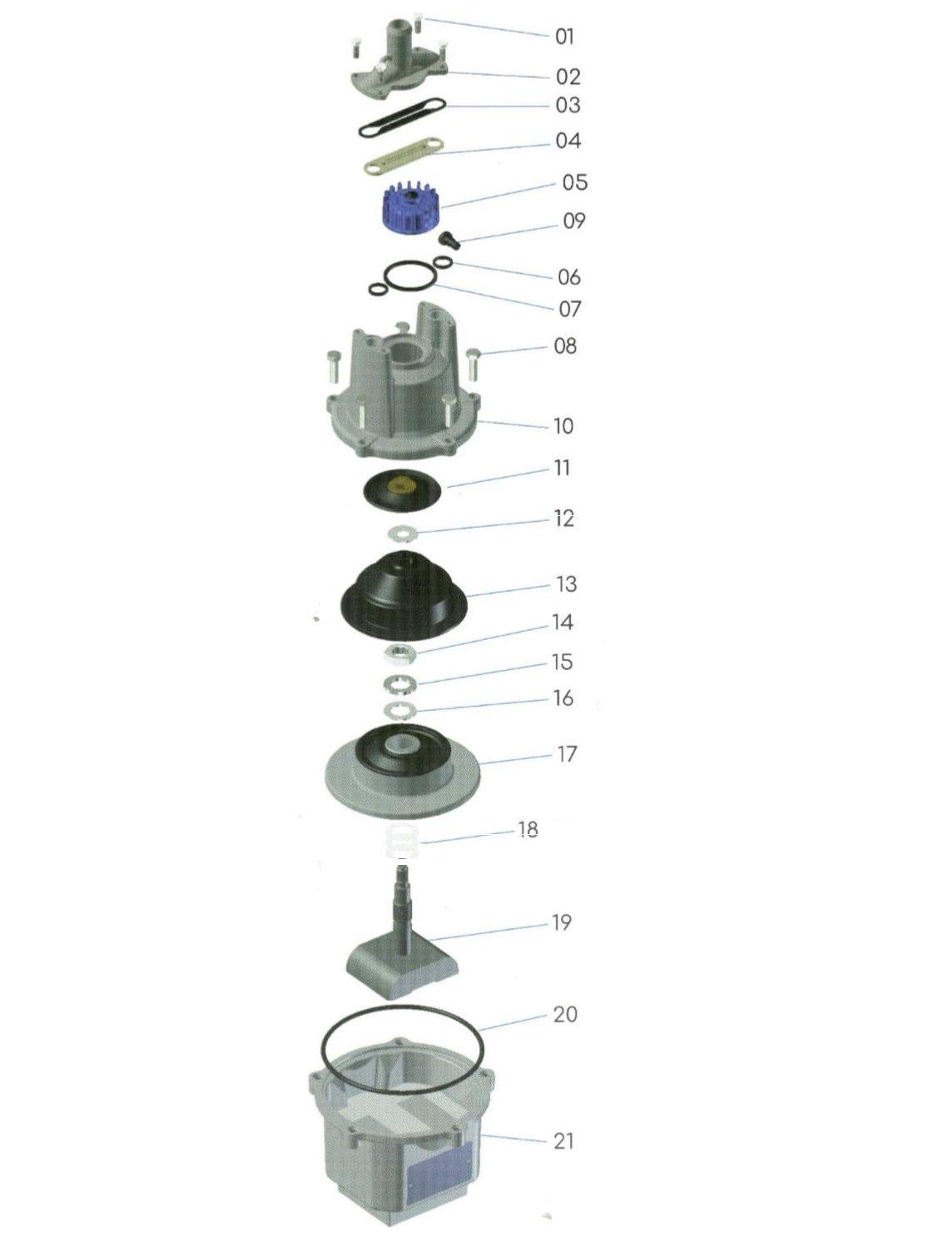 Peças para Bomba Anauger 800 5G ( Geração 5 )