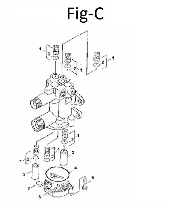 Peças para Lavadora HD 585 - KARCHER
