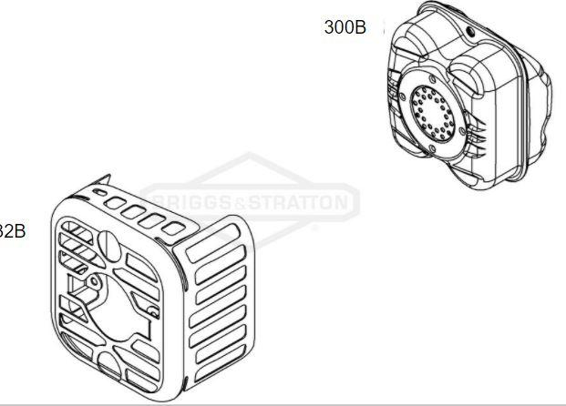 Peças para Motor Briggs e Stratton 500E Series 140CC