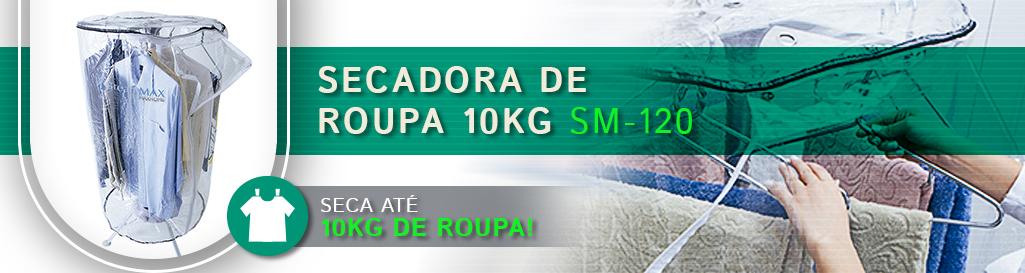 Oferta Exclusiva Secadora de Roupas 10Kg SM-120